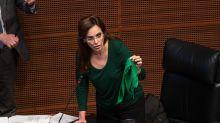 Lilly Téllez, la polémica senadora que salió de la TV