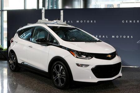 File Photo Chevrolet Bolt An All Electric Vehicle Is On Display At