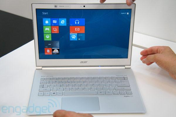 Acer's Aspire S7 Ultrabooks coming October 26th, starting at $1,200 for the 11-inch version