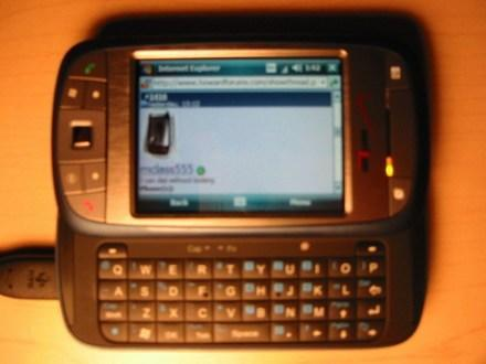 Verizon's XV6800 in the wild, finally available to order