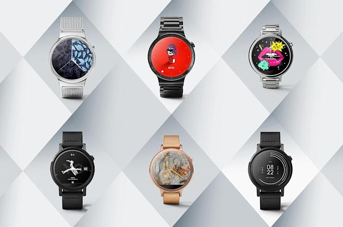 Google debuts designer watch faces for Android Wear