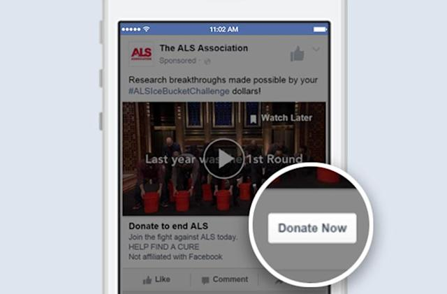 Facebook's 'Donate Now' button makes it easy to help non-profits