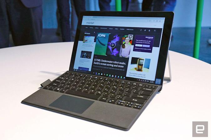 Acer's Switch Alpha 12 is a silent, liquid-cooled hybrid laptop