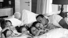 La foto con la que Jennifer López y Álex Rodríguez presumen de su bella y grande familia