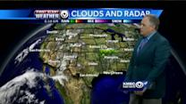 Rainy rumbles could intrude on your Saturday