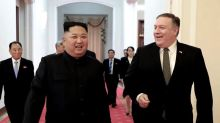 NKorea says it tested new weapon, wants Pompeo out of talks