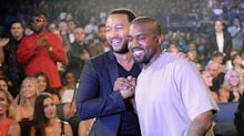 Kanye and John Legend Are Fighting About Trump