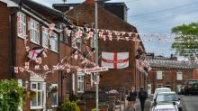UK's 'most patriotic' street gets bunting out again for England