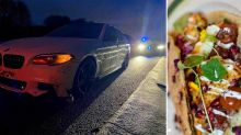 Man breaks COVID rules to drive 350 miles for a kebab - before crashing on way home