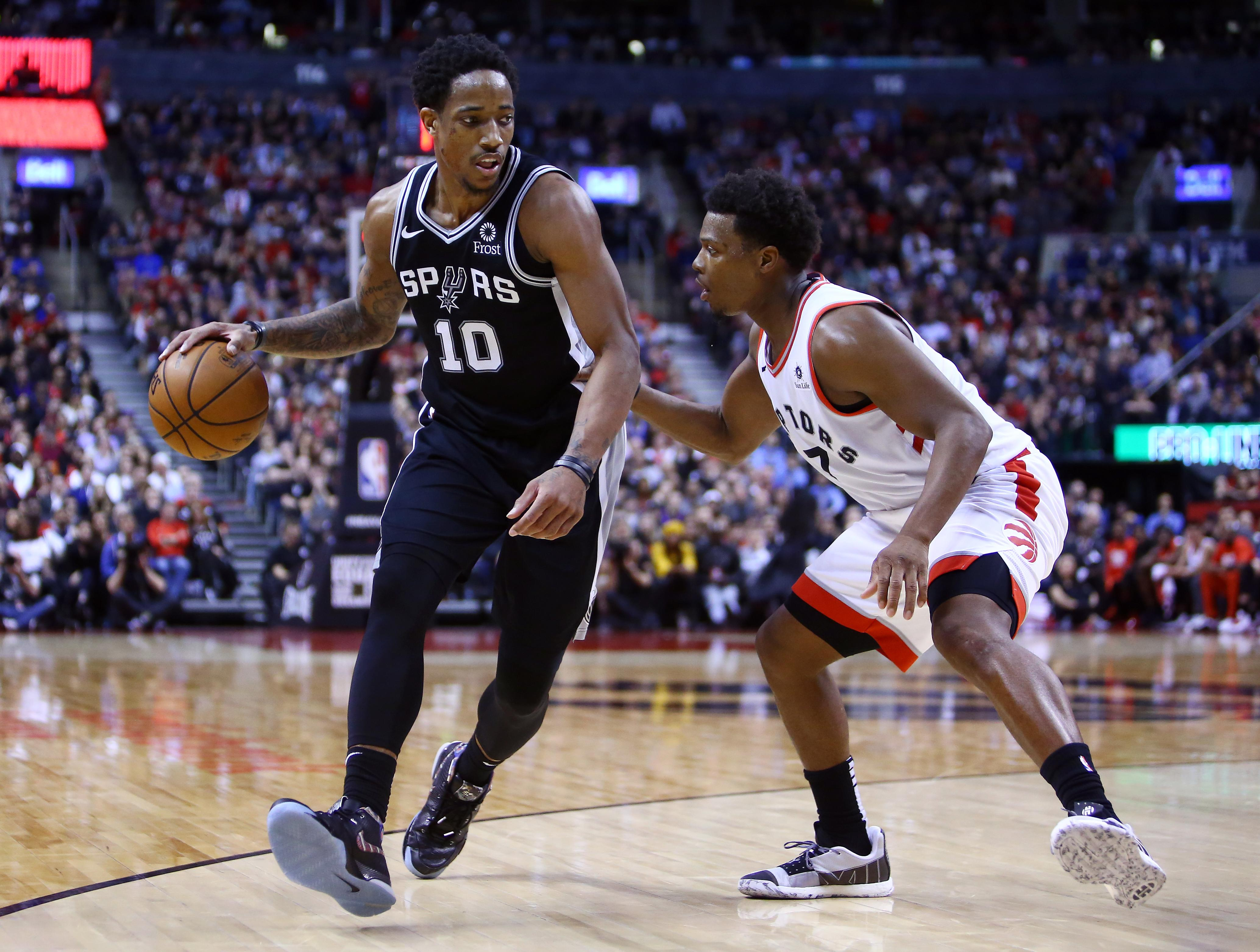 In DeMar DeRozan's return to Toronto, he was loved … and lost yet again - Yahoo Sports thumbnail