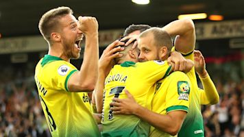 Norwich City upset champions Manchester City with shock 3-2 win