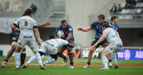 Rugby - Top 14 - R92 - Racing 92 : Virgile Lacombe et Cedate Gomes Sa cités pour leur comportement