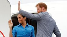 Prince Harry and Meghan Markle's plane forced to abort landing in Sydney