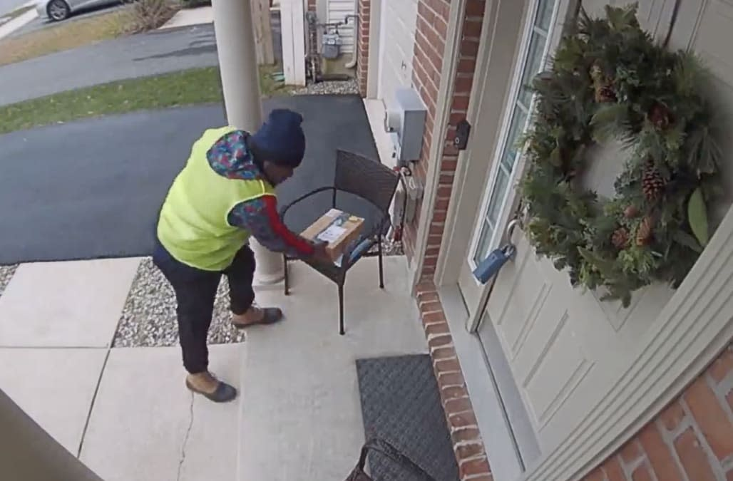 Amazon Delivery Driver Goes Viral For Unbelievable Reaction To