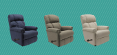 a-Z-Boy Pinnacle Rocker Manual Recliner. (HSN)