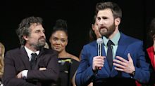 Mark Ruffalo Jokes Around with Chris Evans in Response to Avengers Costar's Since-Deleted NSFW Photos