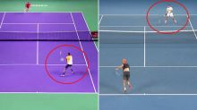 Nick Kyrgios mimics Roger Federer with outrageous piece of skill