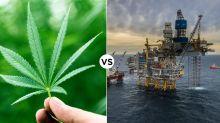 What's the better buy: energy or marijuana stocks?