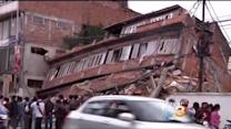 Rescuers Search For Survivors Of Devastating Earthquake In Nepal