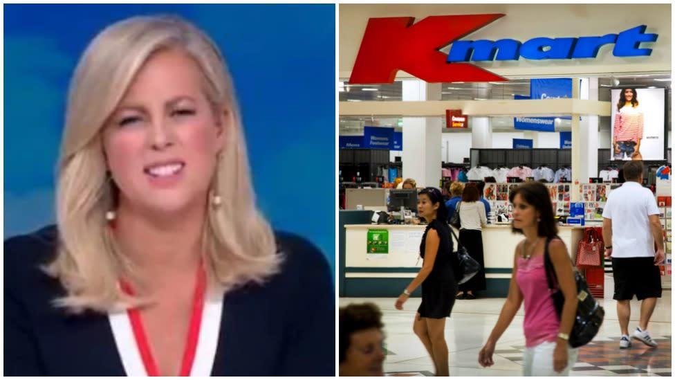 Kmart slammed for 'vile' double standard