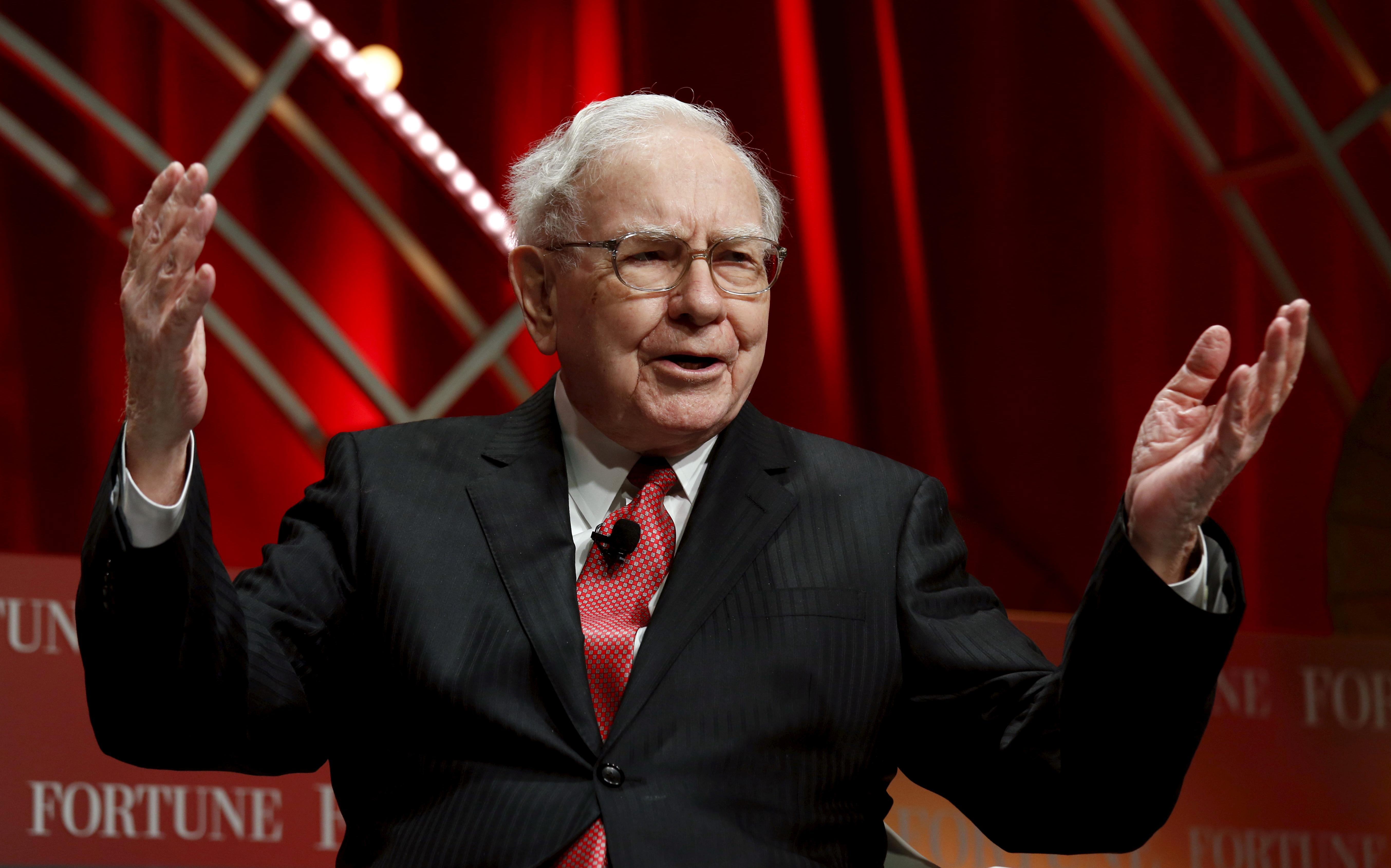 warren buffett the stock market is virtually certain to be worth far more