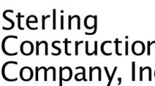 Sterling Awarded Specialty Services Projects Totaling $159 Million During the Second Quarter of 2021