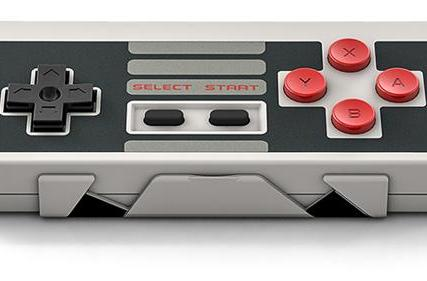 Relive your NES glory days with a gamepad that feels like the real thing