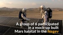 Researchers practice living on Mars in Israel's desert