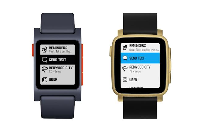 Pebble's latest update adds quick views and more shortcuts