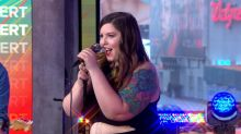 Mary Lambert performs 'Know Your Name' live on 'GMA'