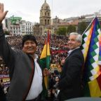 Exiled vice-president blames 'racist backlash' for Evo Morales's forced exit
