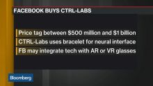 Facebook to Buy Tech Startup CTRL-Labs