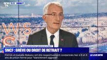 """Pour Guillaume Pepy, la grève SNCF est """"sauvage"""" et """"illégale"""""""