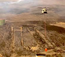 Hawaii's Big Island was scorched by a record-setting wildfire that burned over 40,000 acres