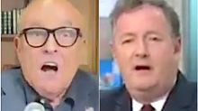 Rudy Giuliani's TV Fight With Piers Morgan Goes Wildly Off The Rails