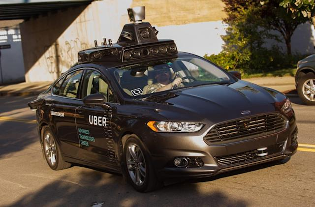 Uber's self-driving cars are off to a rough start