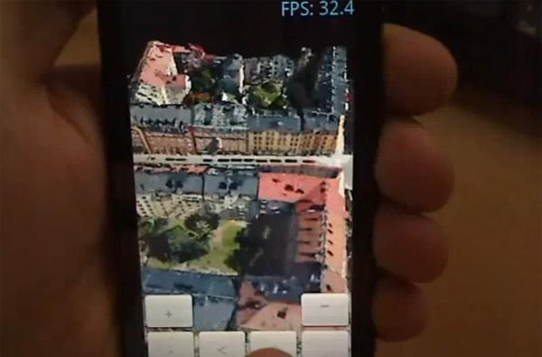 3D maps demoed on Sony Ericsson X10, Snapdragon paying off