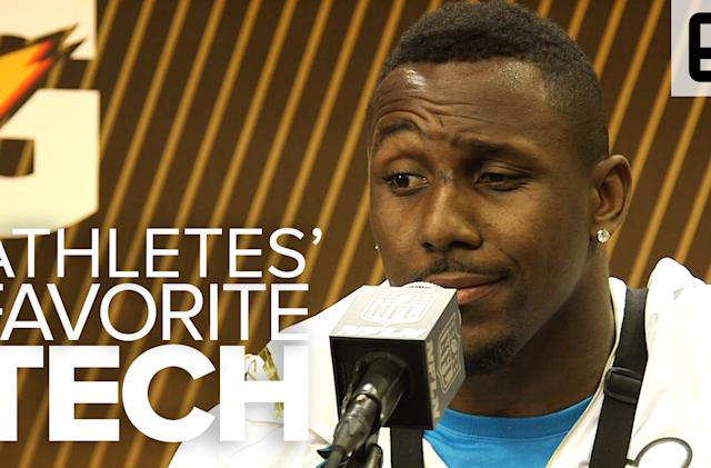 Super Bowl 50 athletes tell us about their favorite tech