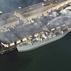 Fisherman's Wharf fire: WWII ship saved at SF's Pier 45