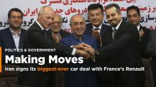 Iran signs its biggest-ever car deal with France's Renault