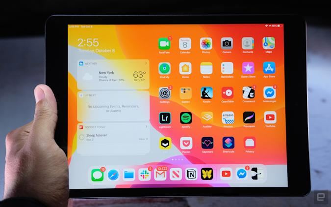Apple 10.2-inch iPad.