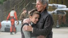 'Force Awakens' Bonus Doc Reveals Carrie Fisher's 'Worst Day Ever,' Harrison Ford's Emotional 'Star Wars' Goodbye