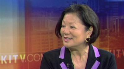 Rep. Hirono Gives 1st Interview Since Declaring for Senate