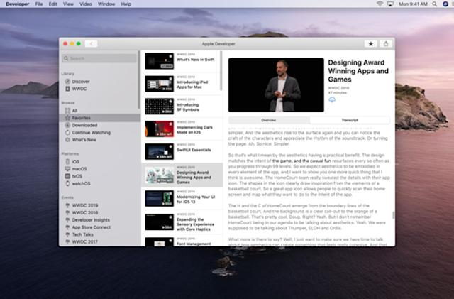 Apple releases Mac version of its developer app just before WWDC