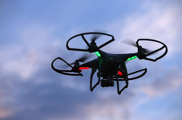 California governor vetoes bill banning drones over private property