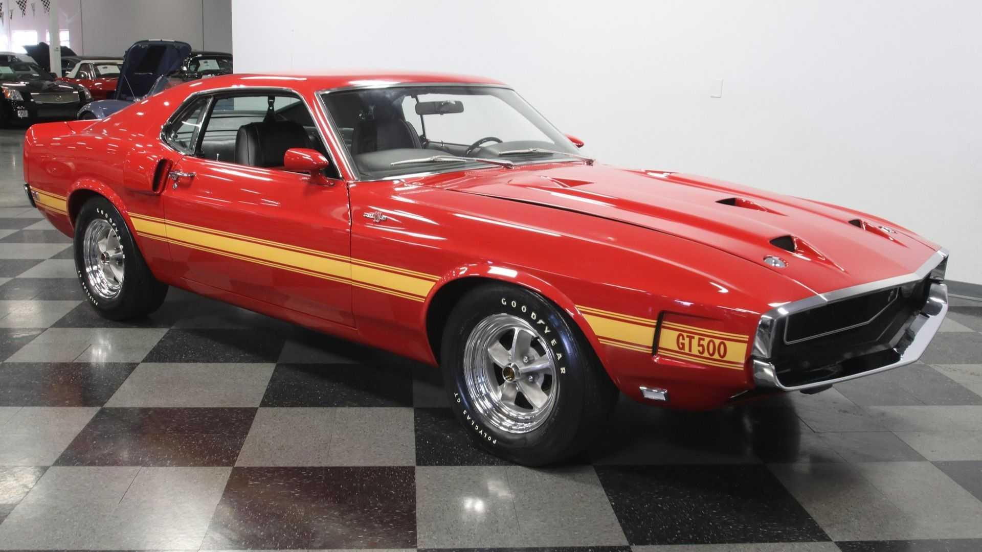 1969 ford mustang shelby gt500 428 cobra jet