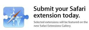 Apple collecting Safari extensions for gallery