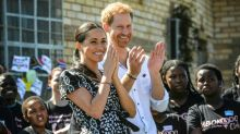 Harry and Meghan join S.Africa's fight against gender violence