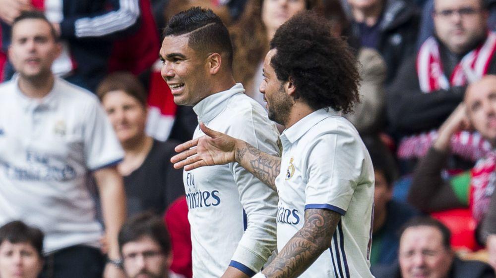 Madrid match-winner Casemiro hailed as one of world's best midfielders by Marcelo