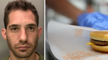 'Armed' robber forced to buy cheeseburger so McDonald's staff could open the till